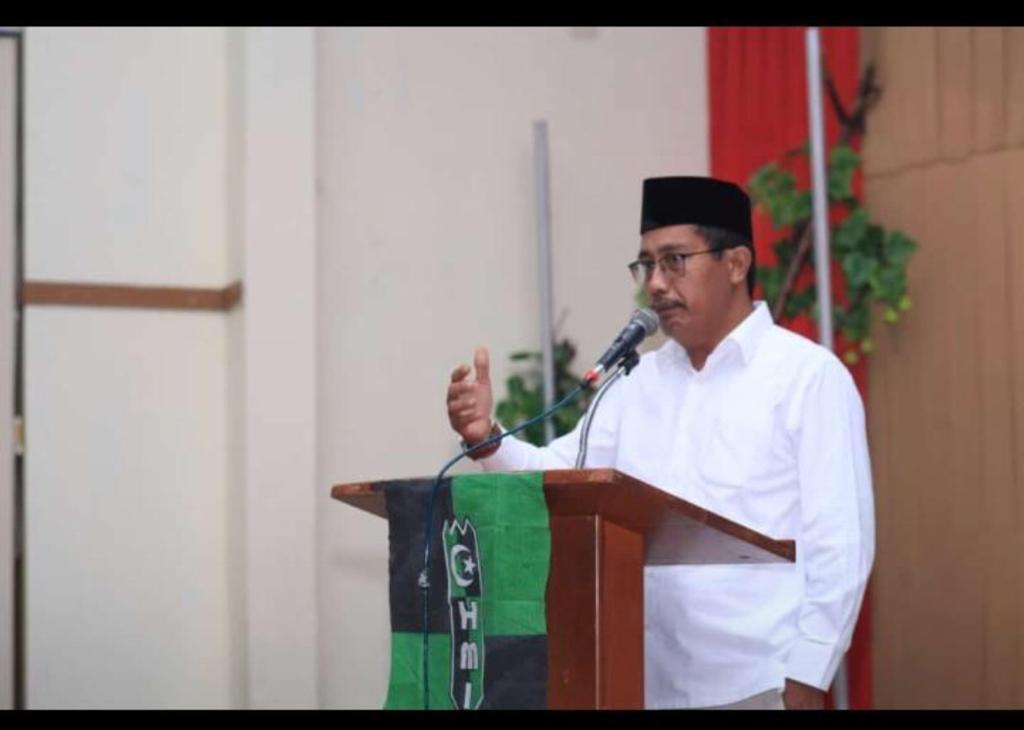 Rektor Universitas Labuhanbatu Sampaikan Orasi Ilmiah Di Acara Milad HMI Ke 73
